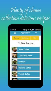 Coffee Recipe screenshot 4