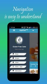 Gluten-Free Cake Recipes screenshot 19