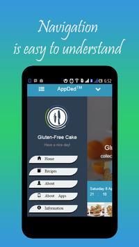 Gluten-Free Cake Recipes screenshot 3