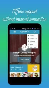 Instant Coffee Recipes apk screenshot