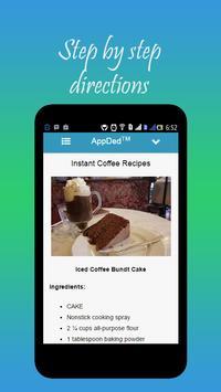 Instant Coffee Recipes screenshot 7