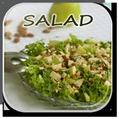 Delicious Salad Recipes Guide icon