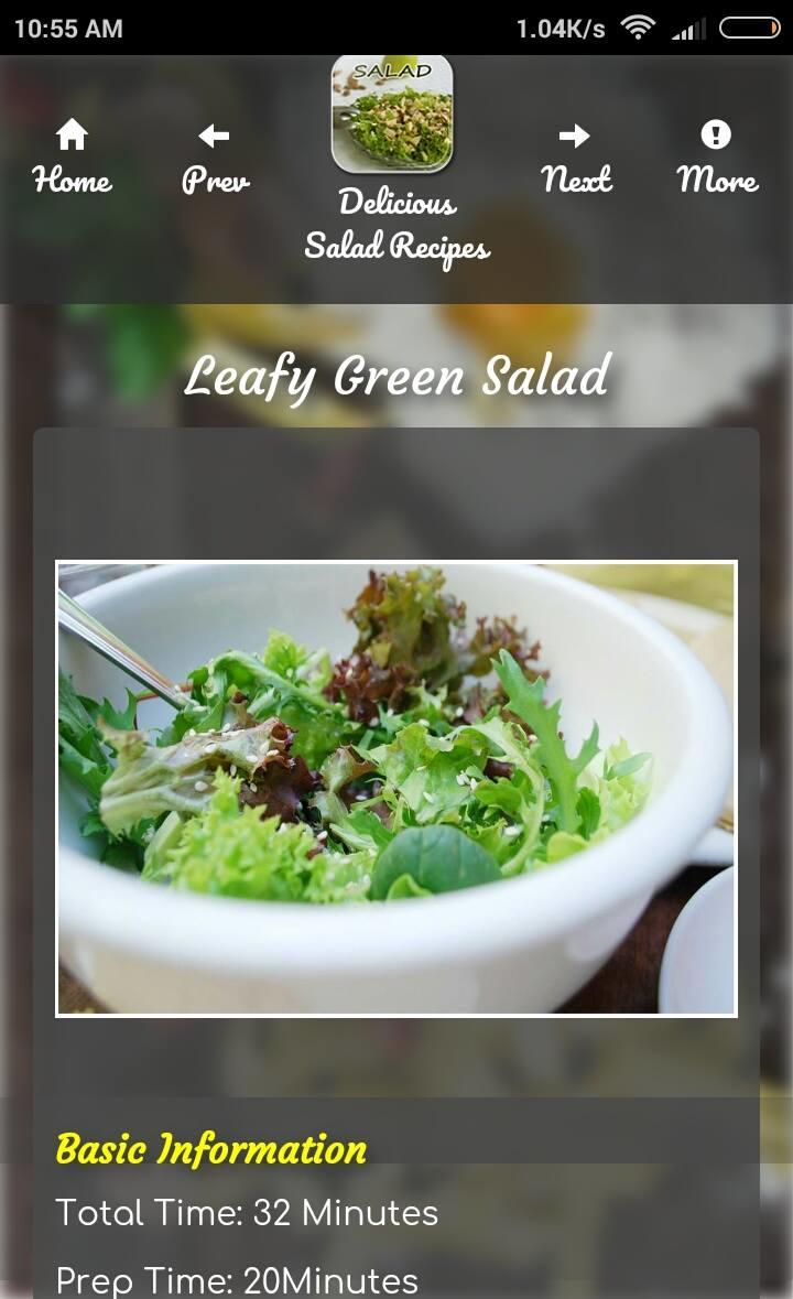 Delicious Salad Recipes Guide poster