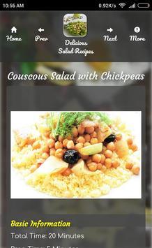 Delicious Salad Recipes Guide apk screenshot
