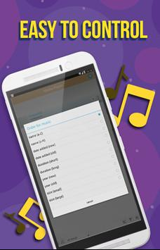 Music app apk screenshot