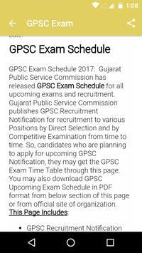 GPSC Exam poster