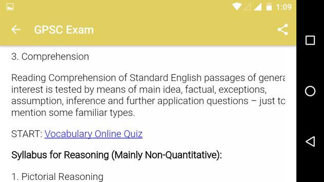 GPSC Exam screenshot 3
