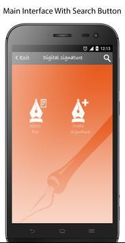 E-Signature -Signature paper from your phone apk screenshot