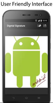 E-Signature -Signature paper from your phone apk screenshot