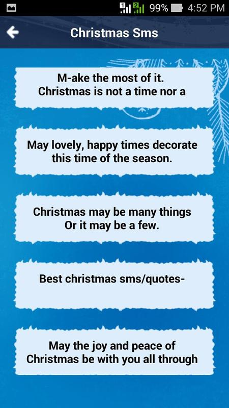 Merry Christmas Greetings SMS APK Download - Free Communication APP ...