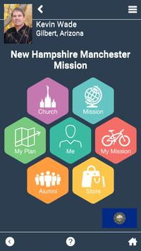 New Hampshire Manchester Mission poster