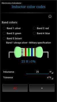 Electronics Calculator 截图 3