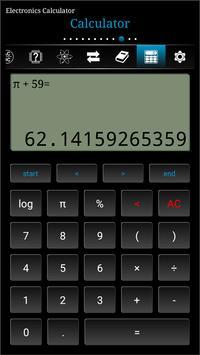 Electronics Calculator 截圖 2