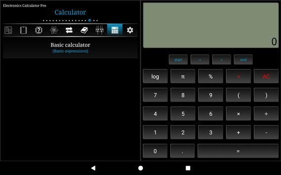 Electronics Calculator Pro syot layar 6