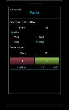 RF Calculator imagem de tela 1