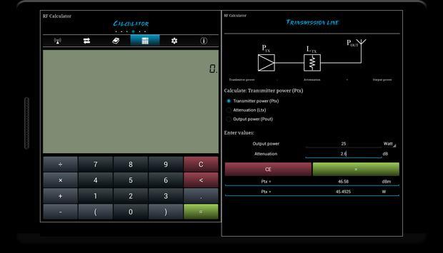 RF Calculator imagem de tela 7