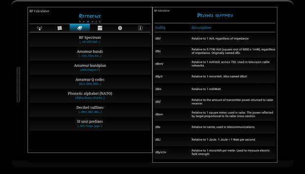 RF Calculator imagem de tela 6