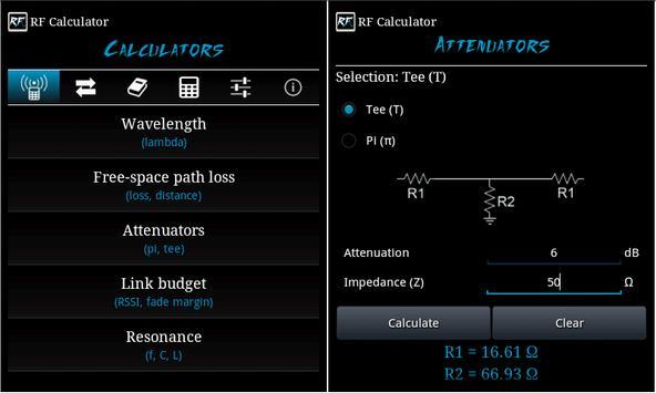 RF Calculator imagem de tela 8