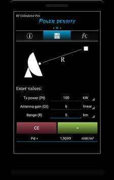 RF Calculator Pro screenshot 1