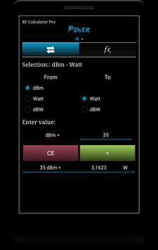 RF Calculator Pro screenshot 2
