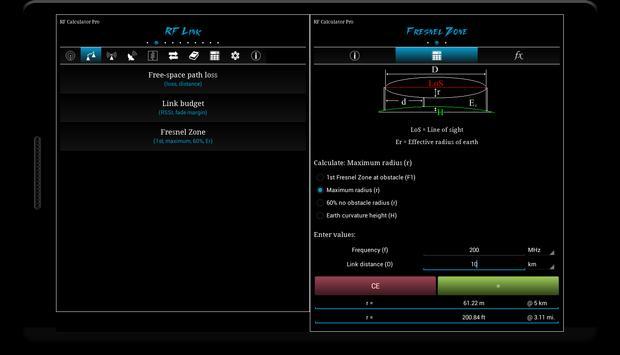 RF Calculator Pro screenshot 5