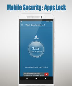 Mobile Security: AppLock poster