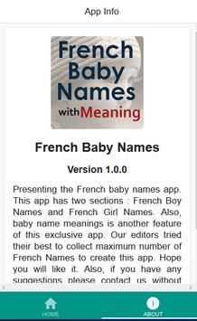 French Baby Names screenshot 1
