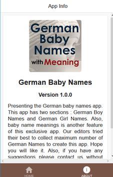 German Baby Names screenshot 2