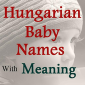 Hungarian Baby Names icon