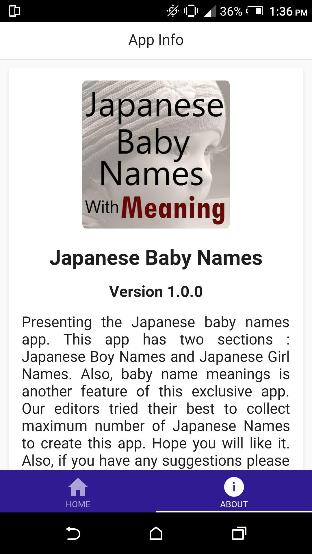 Japanese Baby Names for Android - APK Download