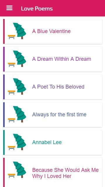 Love Poems English For Android Apk Download
