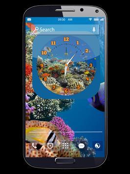 Aquarium Clock Live Wallpapers apk screenshot