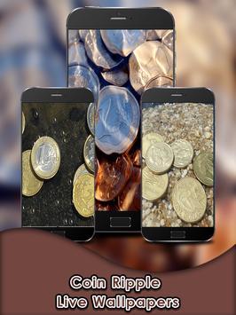 Coin Ripple Live Wallpapers apk screenshot