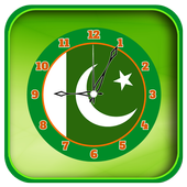 Flag Clock Live Wallpapers icon