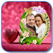 Lover Heart Photo Frame New icon