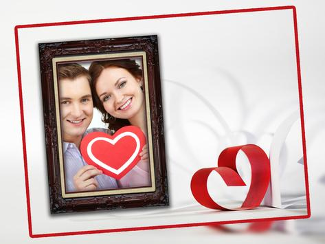 Lover Heart Photo Frame New screenshot 1
