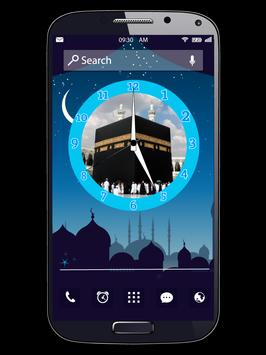 Islam Clock Live Wallpapers poster