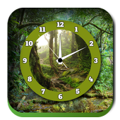 Jungle Clock Live Wallpapers icon