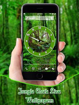Jungle Clock Live Wallpapers poster