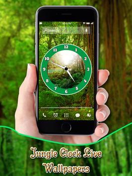 Jungle Clock Live Wallpapers apk screenshot