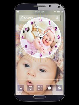 Kids Clock Live Wallpapers poster