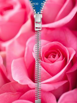 Pink Roses Lock Screen poster
