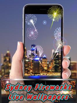 SydneyFireworks LiveWallpapers apk screenshot