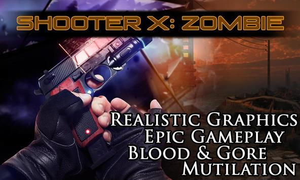 Shooter X: Zombie apk screenshot