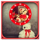 Teddy Bear Clock LiveWallpaper icon