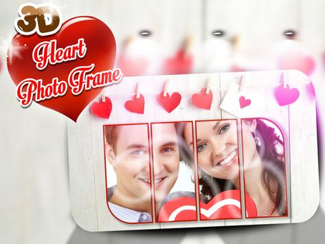 3D Heart Photo Frames APK Download - Free Photography APP for ...
