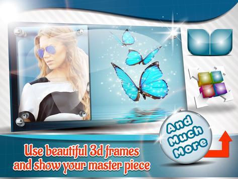 3D Nature Photo Frames poster