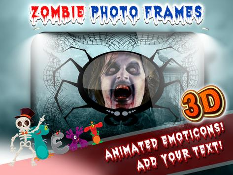3D Zombie Photo Frames poster