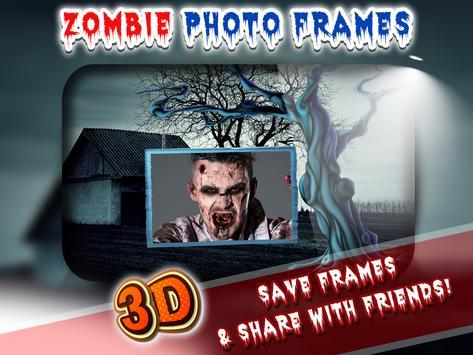 3D Zombie Photo Frames apk screenshot