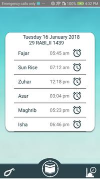 Find Qibla Now with Salah Times screenshot 1